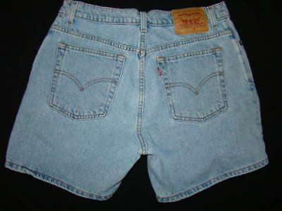 Womens VTG 90s Levis jean shorts 12 reg mom shorts high waisted