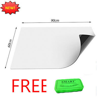 New Dry Wipe Magnetic Whiteboard Notice Board White Memo Large Small Size Office