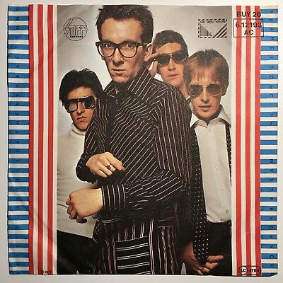 Elvis Costello - Watching the Detectives / Blame It On Caine - 7 Inch Vinyl