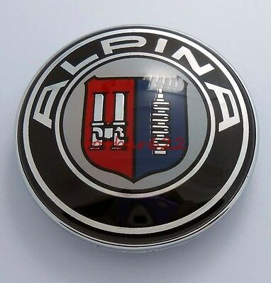 T Logo 82mm Car Hood emblem badge For ALPINA #t305