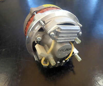 New Oem 12V 80A Alternator Fit Volvo Compact Wheel Loader L30B L35B Pro 01182107
