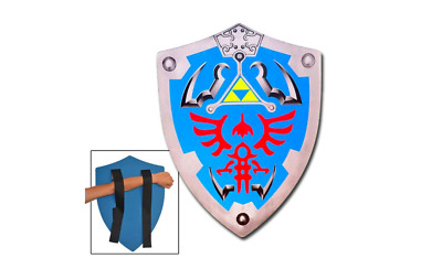 Legend Of Zelda Link Hylian Hyrule Triforce Foam Shield Larp, Free Shipping, NEW