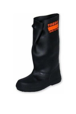 """TREDS 17259 Super Grit 17"""" Pull-On Stretch Rubber Overboots, Slip Resistant Book"""