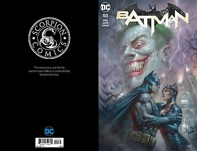 Batman 50 Lucio Parrillo Color Variant Catwoman Wedding Issue Joker Cover Nm