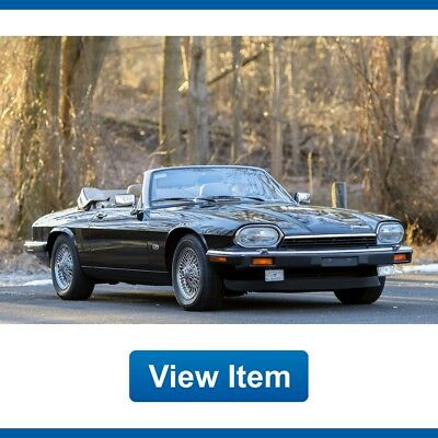 1992 Jaguar XJS V12 5.3L Convertible Serviced 86K mi CARFAX 1992 Jaguar XJS V12 5.3L Convertible Serviced 86K mi CARFAX Collectible!