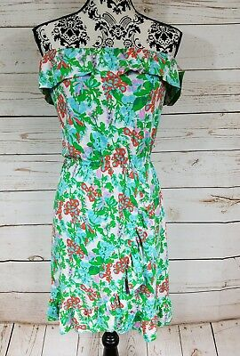 1efc93bd0aa NWT Lilly Pulitzer Flor Dress Multi Mini Bee In Your Bonnet Size L