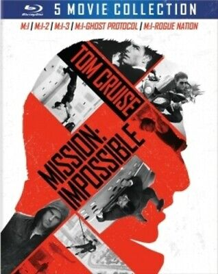Mission: Impossible: The 5 Movie Collection [New Blu-ray] Boxed Set, Dolby, Du