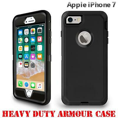 For iPhone 7 Tough Armour Case Hard Front Back Shockproof Heavy Duty 360 Cover