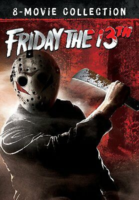 Friday The 13th The Ultimate 8 Movie Collection DVD New Sealed