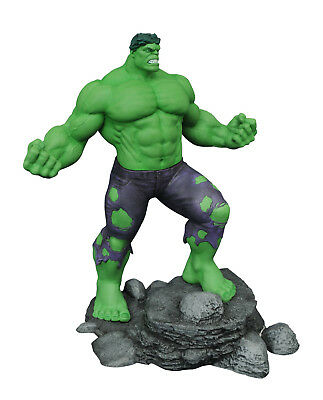 Marvel Select Diamond Gallery Statues NEW in Damaged Boxes DeadPool Hulk Spm