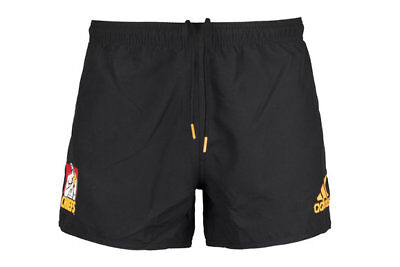 Waikato Chiefs 2018 Adidas Super Rugby Players On Field Shorts Size S-3XL!