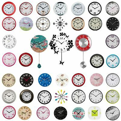 Wall Clock 40 Plus Beautiful Designs, For Kitchen, Living Room or Office