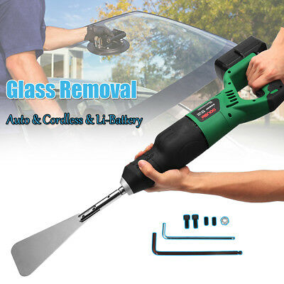 Cordless Car Glass Windshield windscreen Removal Remover Tool +Li-ion Battery AU