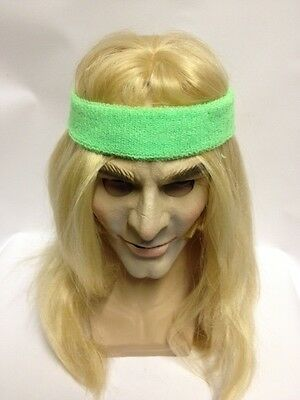 Bjorn Borg Long Blond Wig