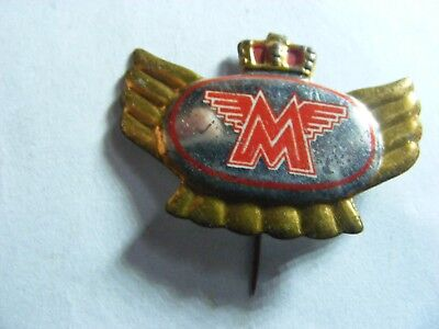 MATCHLESS  motorcycle very old lapel,hat pin badge(D).