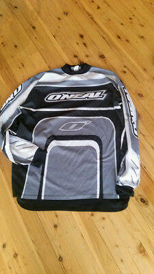 Oneil motor bike shirt-- Size Large to X Large  Second hand