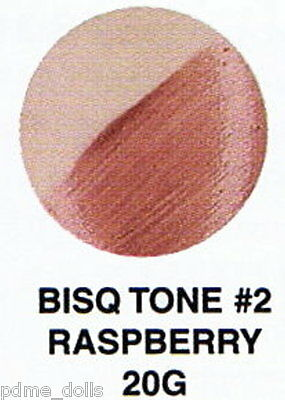 Seeleys china paint 20G Bisque Tone #2 Raspberry