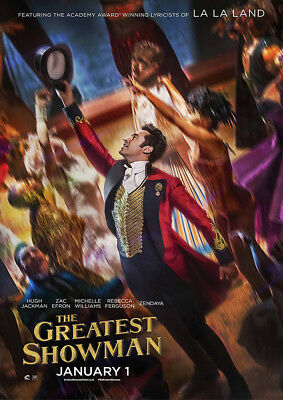 Brand New Movie Poster Print: The Greatest Showman   A3 / A4