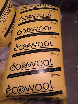 Ecowool R3.5 1160 x 430 x 165mm 9m2 Gold Ceiling Batts  Insulation for ceiling