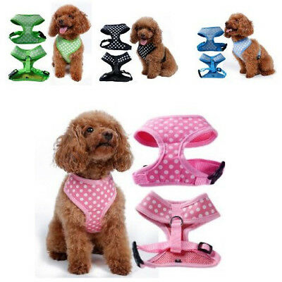 Cute Small S Pink Dog Harness Collar Poodles Rottweilers Cheap