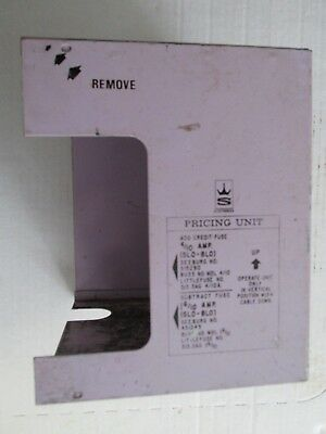 Seeburg Jukebox Model SS-160,  Cover for Coin Pricing Unit UDPU-5