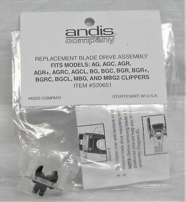 Andis Company Replacement Blade Drive Assembly Item # S20651 QTY 4