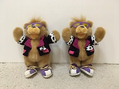 Vintage Rockin' Teddy Grahams Bears (Nabisco Promotion) - 2 Bears