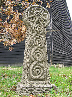 Full Size Celtic Cross Stone Garden Ornament
