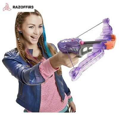 NEW Nerf Rebelle Diamondista Blaster Girl Crossbow Dart Spies Toy Gun + 3 Darts