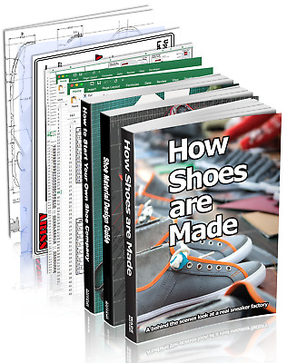 Shoe Company Start Up Pro Pack : 3 shoemaking books plus 8 paper tools
