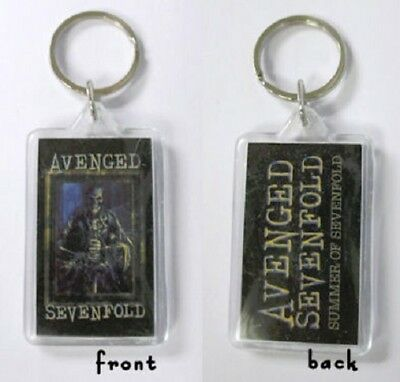 Avenged Sevenfold -Keychain - Double-sided Key Chain-hail King-licensed New