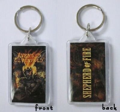 Avenged Sevenfold -Keychain - Double-sided Key Chain-king-licensed New