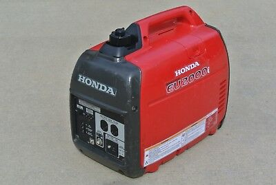 HONDA EU2000 i GENERATOR INVERTER  GOOD CONDITION  CLEAN