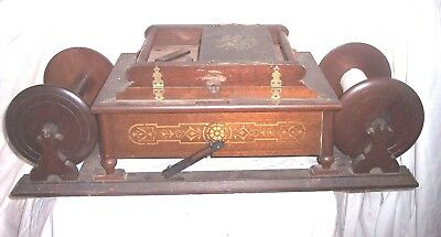 Early Large Roller Organ For Parts Or Restoration