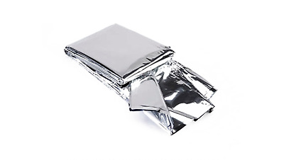 Premium Foil Thermal Emergency Survival Blanket First Aid Water Proof Camping