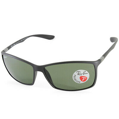 2ab1e46b642 Ray-Ban RB4179 601S9A Liteforce Matte Black Grey-Green Mens Polarised  Sunglasses