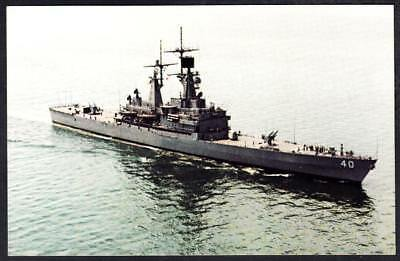 CGN-41 US NAVY Nuclear-powered guided missile cruiser USS ARKANSAS 8X12 PHOTO