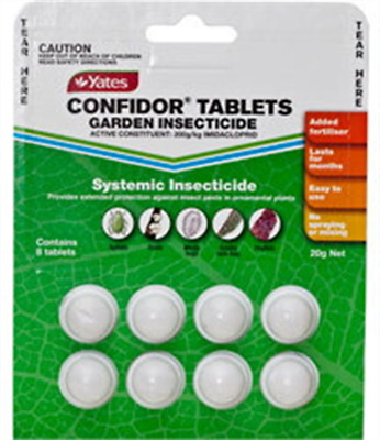 Confidor insecticide tablets pack of 8