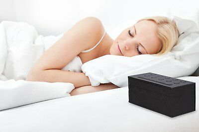 Sleep Sound Machine Therapy White Noise Night Sleeping Aid Timer 10 Relax Sounds