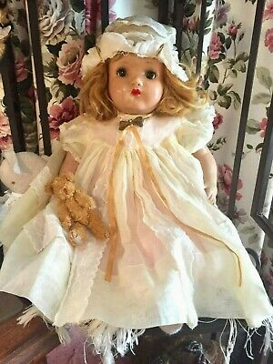 1930 antique Horsman composition doll