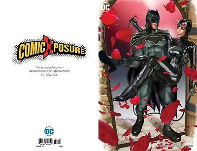Batman 50 Comicxposure Greg Horn Exclusive B Variant Nm