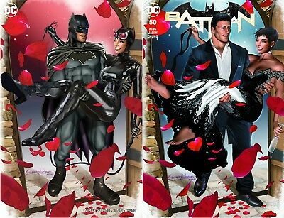 Batman 50 Comicxposure Greg Horn Exclusive 2 Pack Virgin Variant Set Nm