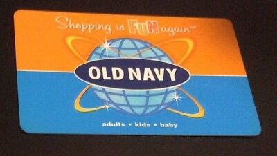 $15 VALUE Gift Card OLD NAVY x1 ONE @ $0.99 FREE Ship Amount Confirmed No Expire