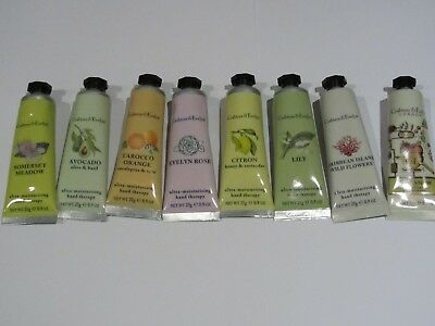 **BARGAIN** Crabtree & Evelyn Hand Therapy 8 x 25g - MIXED FRAGRANCE - New