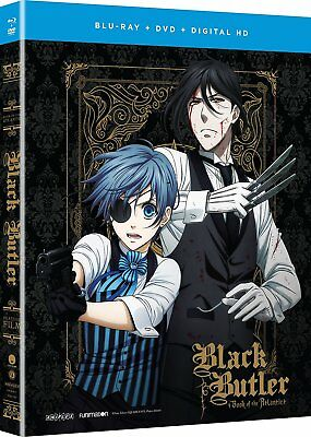 Black Butler: Book of the Atlantic - Movie Combo [Anime] [100 minutes] [DVD] NEW