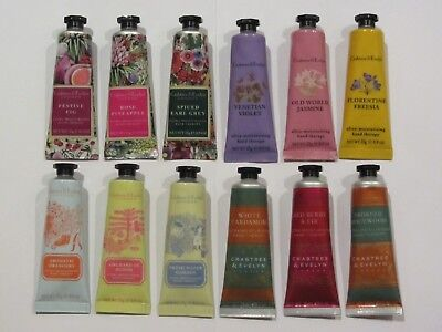 Crabtree & Evelyn Hand Therapy 12 x 25g LIMITED EDITIONS - 4 x COMPLETE SETS New