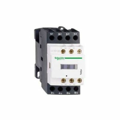 Schneider Electric LC1DT25B7 TeSys 4 Pole Contactor 25A AC1 24VAC Coil
