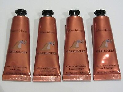Crabtree & Evelyn Hand Therapy - 4 x 25g = 100g - GARDENERS - New & Last Stock