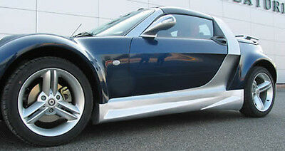Seitenschweller / side skirts Smart Roadster (M 155P)