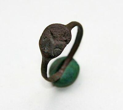 Ancient Old Medieval Bronze Ring (NOW193)